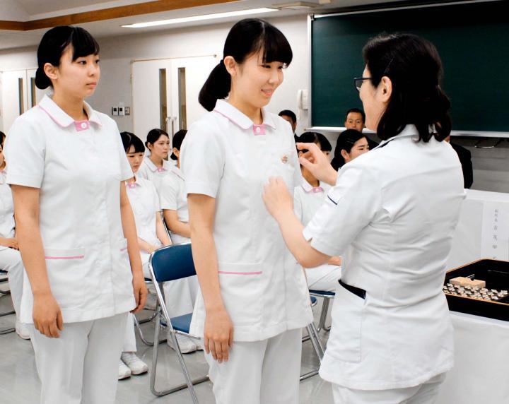 松山の専門学生39人、実習へ決意 信頼される歯科衛生士に