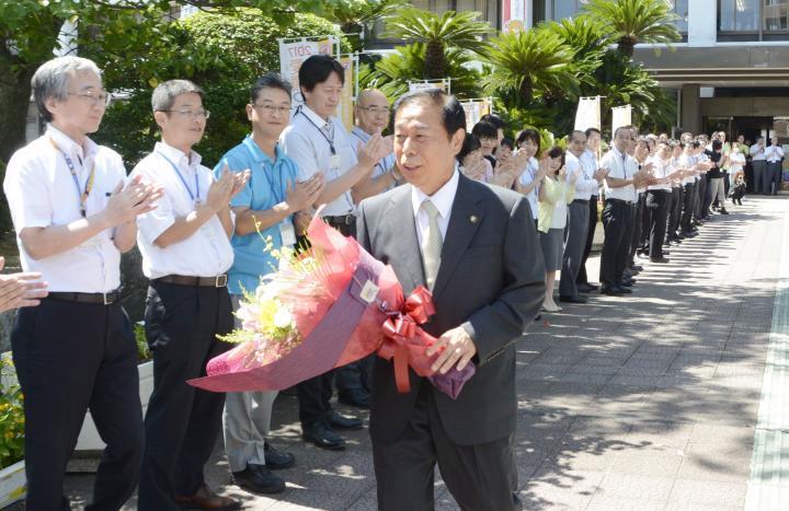 宇和島市政担い16年半 石橋市長...