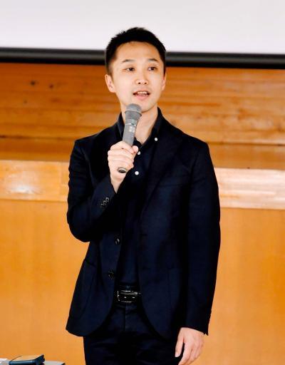 村上氏(今治出身)外交官の仕事、熱く語る|愛媛新聞ONLINE