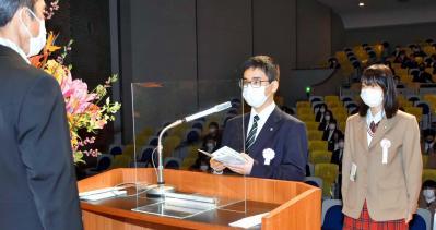 未来高・河原高等専修学校で卒業式|愛媛新聞ONLINE