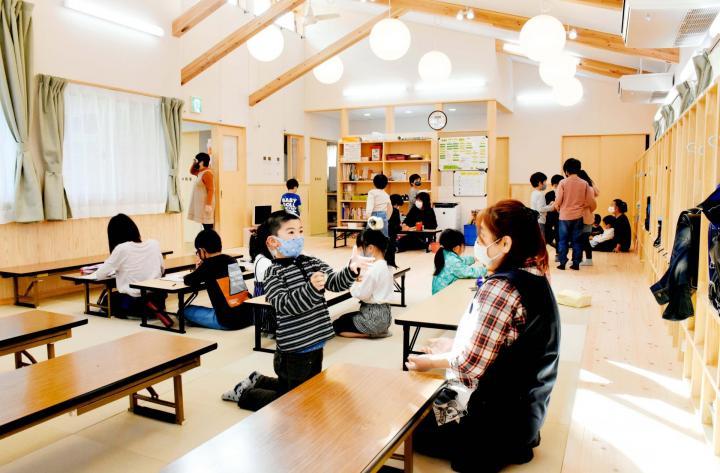 市産木材で学童保育施設 西日本豪雨被災の西予・下宇和地区(愛媛) 市産木材で学童保育施設